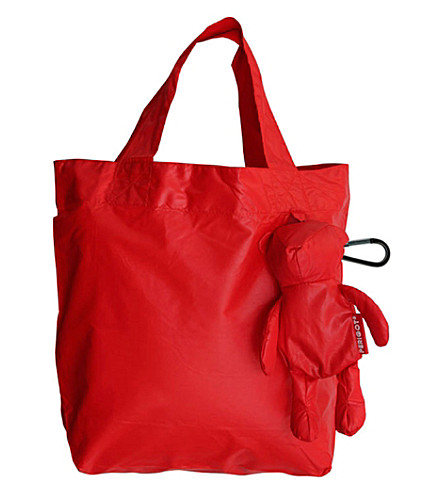 PERIGOT Bear shopper bag small