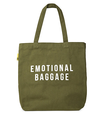 POLITE LTD Emotional baggage tote bag
