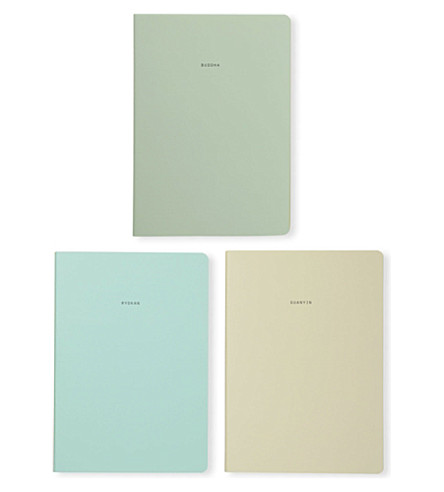 POLITE LTD Buddhists Notebooks