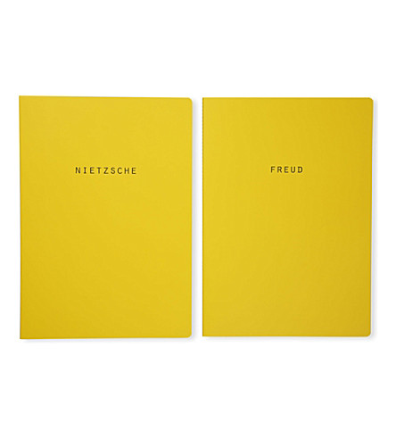 POLITE LTD Neitsche and Freud notebooks