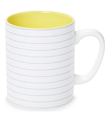 USTUDIO Paper Cup graph porcelain mug