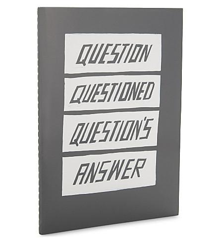 USTUDIO Questions A5 notebook
