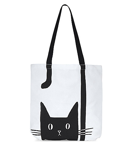 USTUDIO Alley cat cotton tote