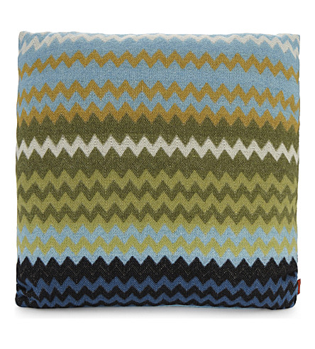 MISSONI HOME Humbert chevron print cushion 40cm x 40cm