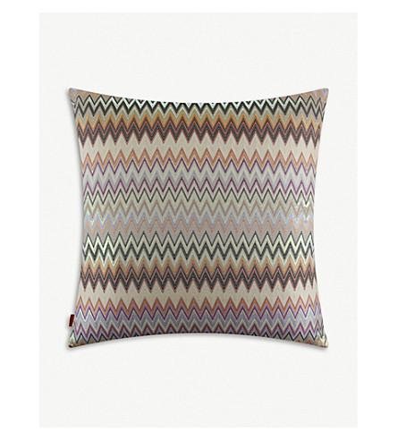 MISSONI HOME Masuleh patterned cushion 60x60cm