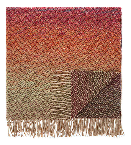 MISSONI HOME Pascal wool-cashmere throw