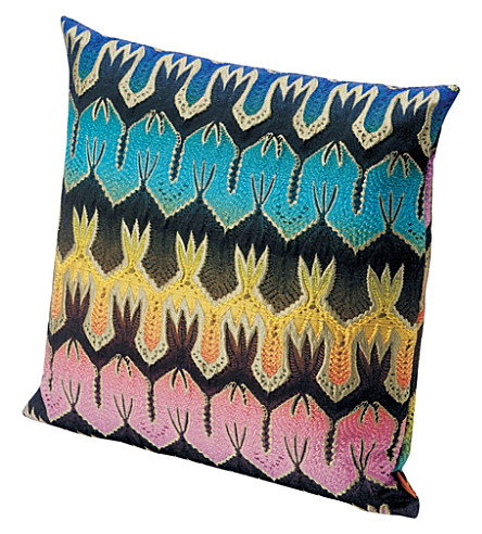 MISSONI HOME Roing embellished cushion 40cm