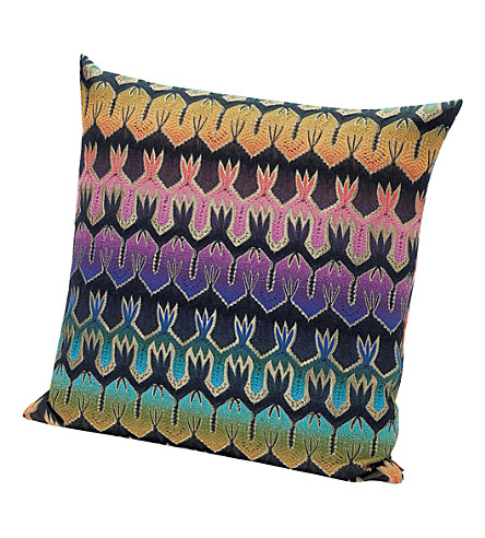 MISSONI HOME Roing embellished cushion 60cm