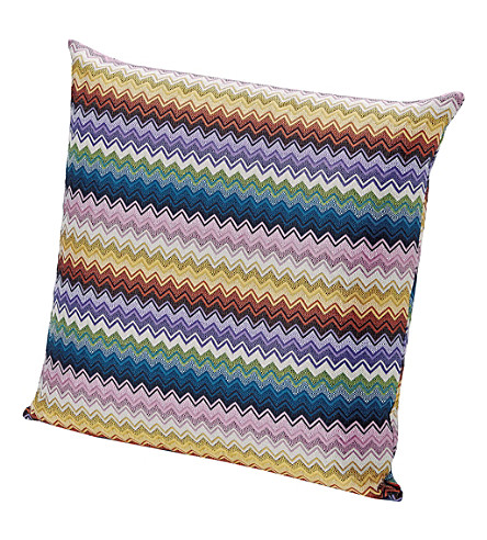MISSONI HOME Rajam chevron cushion 60cm