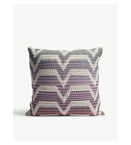 MISSONI HOME Socrate wool-blend cushion 40cm