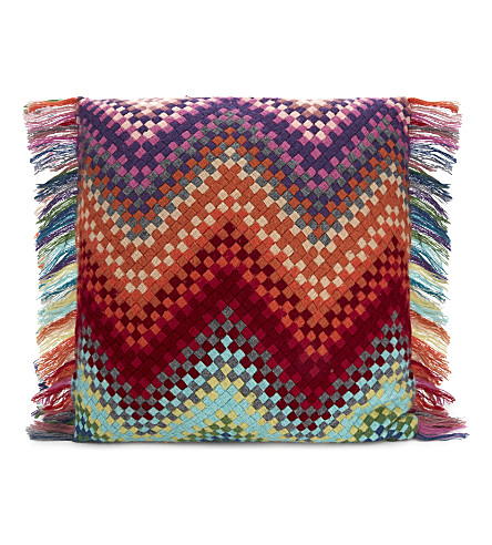 MISSONI HOME Sandra wool cushion