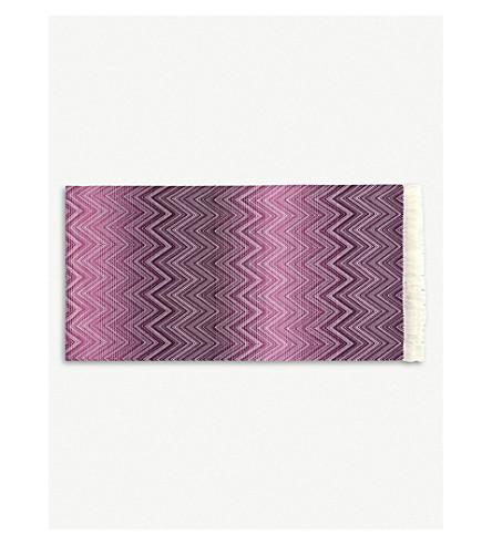 MISSONI HOME 提米钩针针织美利奴羊毛毯 130厘米 x 190厘米