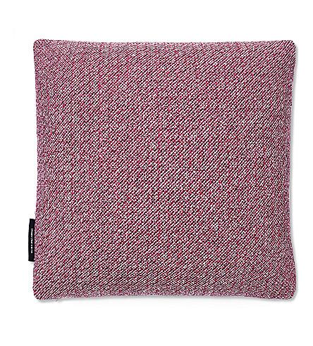 RAF SIMONS Noise wool-blend cushion