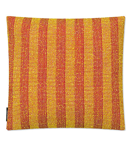 RAF SIMONS Pulsar wool-blend cushion