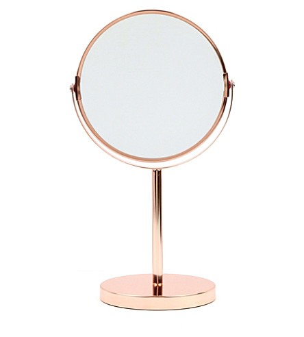 BLOOMINGVILLE Two-sided copper mirror