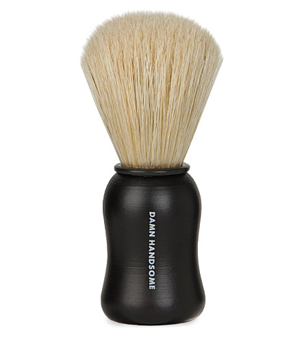 MENS SOCIETY Damn Handsome shaving brush