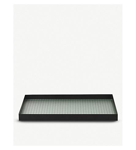FERM LIVING Haze metal tray 45x33cm
