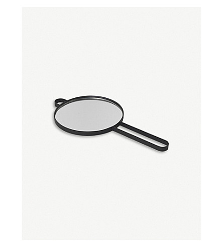 FERM LIVING Poise metal hand mirror
