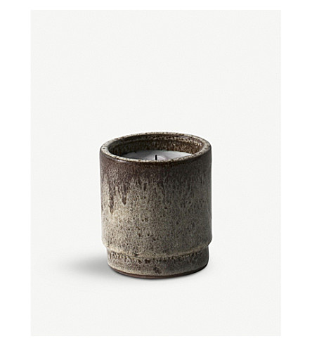 FERM LIVING Fig scented ceramic candle