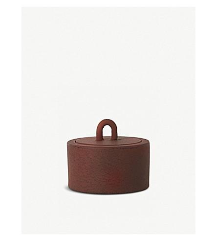 FERM LIVING Cast iron buckle jar 6cm