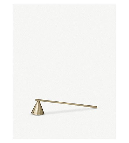 FERM LIVING Brass candle extinguisher 3.8cm