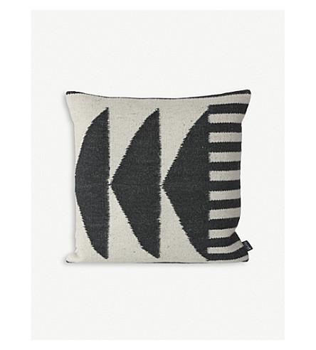 FERM LIVING Kelim wool-blend cushion 50x50cm