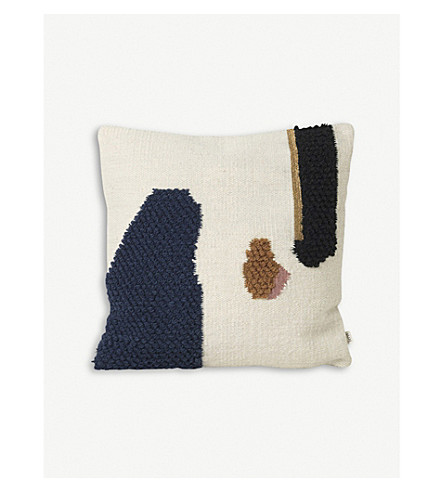FERM LIVING Loop wool cushion 50x50cm