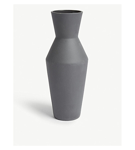 FERM LIVING Sculpt porcelain vase corset 25cm