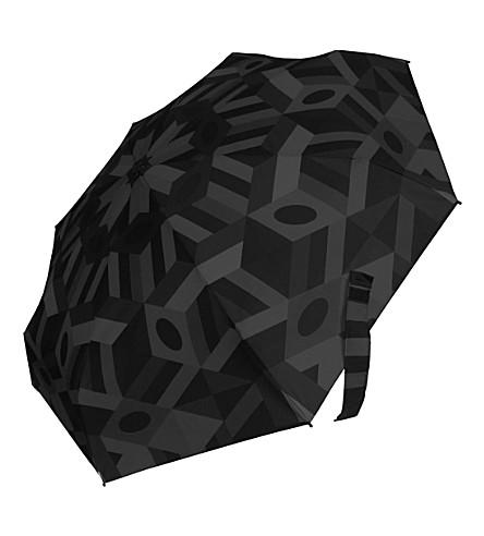 DAVID DAVIID LONDON Micro compact umbrella, print M16