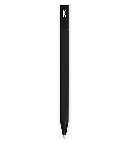 DESIGN LETTERS Personal Pen K