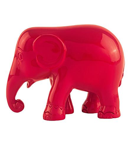THE ELEPHANT FAMILY Simply red elephant 5cm