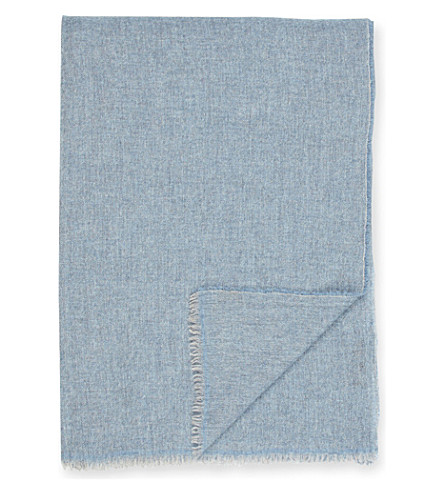 OYUNA Esra woven cashmere throw