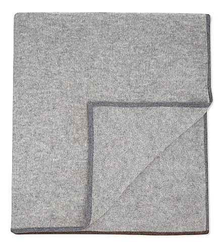 OYUNA Daya cashmere travel throw 180cm