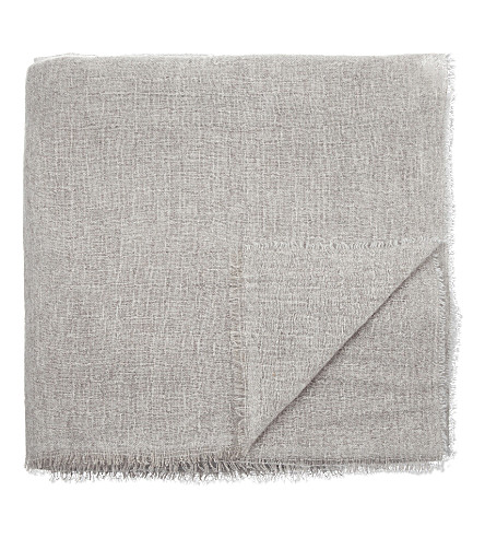 OYUNA Esra cashmere travel throw 200cm