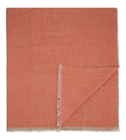 OYUNA Saan cashmere travel throw 200cm