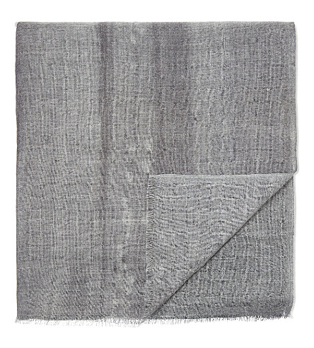 OYUNA Vista cashmere travel throw 200cm