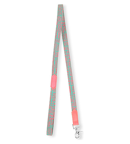 HIRO AND WOLF Kate Moross printed dog lead