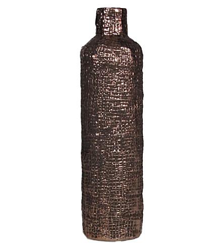 ABIGAIL AHERN Panama textured vase 31cm