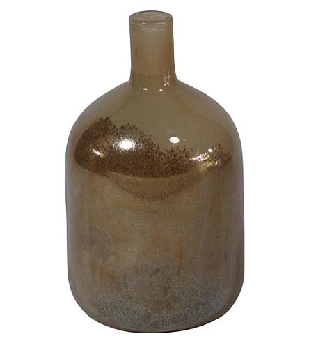 ABIGAIL AHERN Odelle glass bottle vase