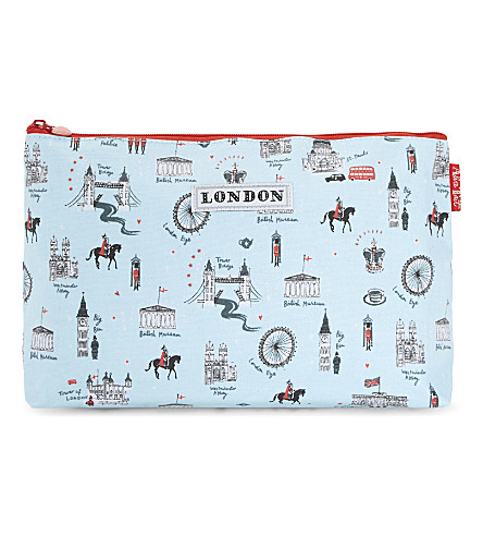 LONDON Ilustrated London medium wash bag