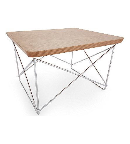VITRA Occasional wood side table