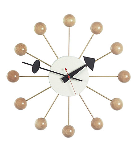 VITRA Ball wood clock