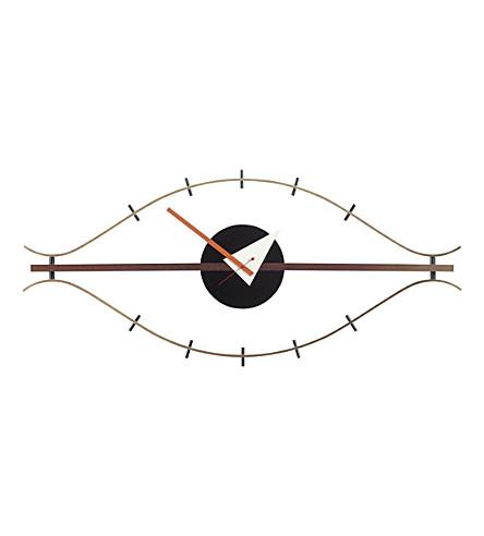 VITRA Eye wooden clock