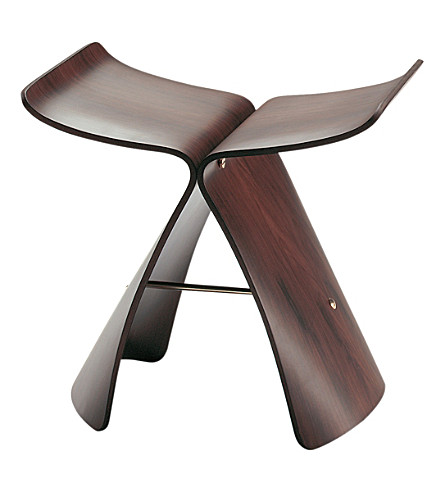 VITRA Butterfly wooden stool