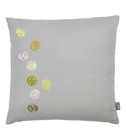 VITRA Dots embroidered cushion