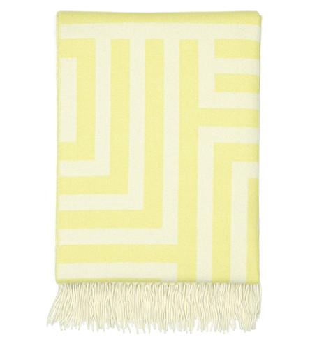 VITRA Maze-jacquard wool blanket