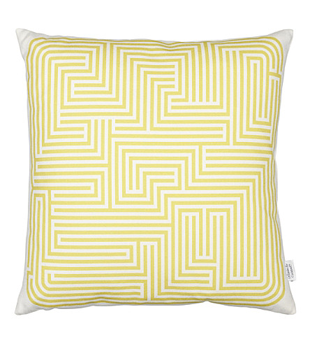 VITRA Maze graphic printed pillow