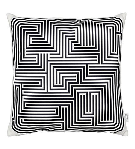 VITRA Maze graphic printed pillow