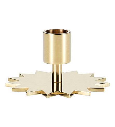 VITRA Star brass candle holder