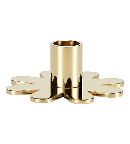 VITRA Petal brass candle holder